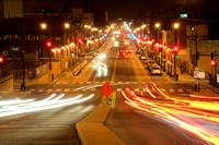 H Street Night Traffic