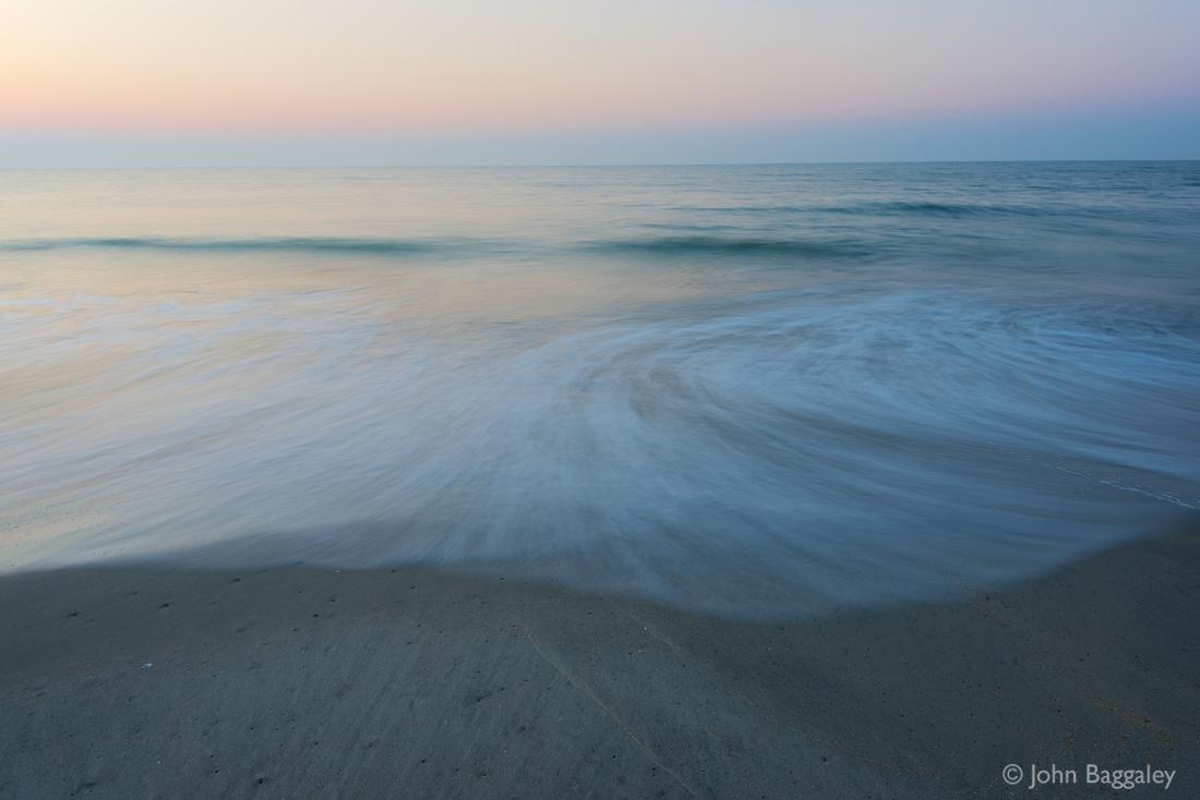 Photo by John Baggaley of an Atlantic sunrise on Assateague Island, Virginia.