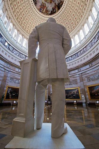 President Garfield in the Capitol Rotunda