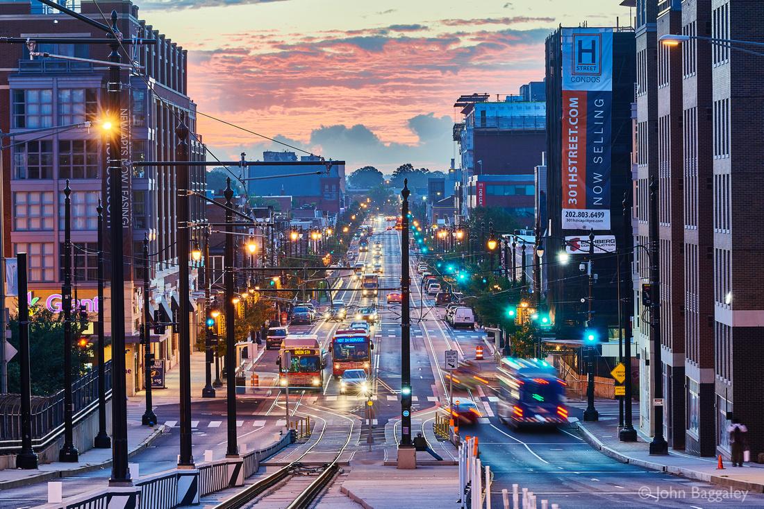 Dawn on H Street