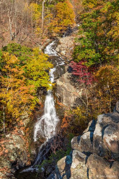 Autumn at Whiteoak Canyon Falls
