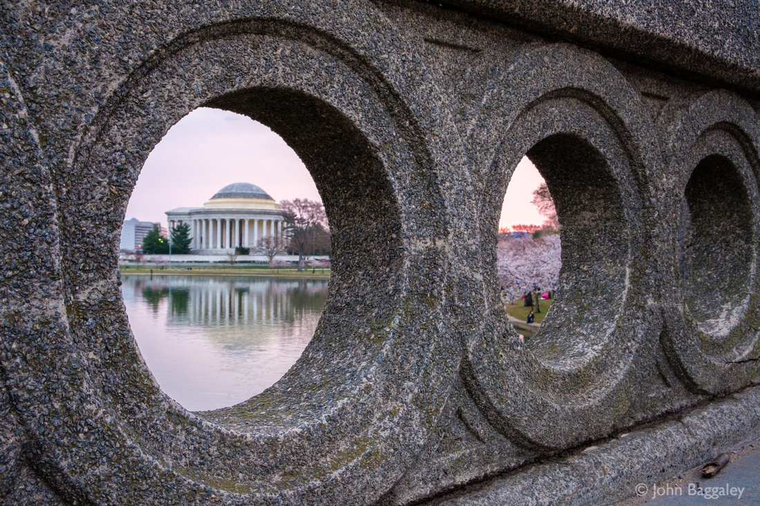 Peeking Through the Wall at the Jefferson