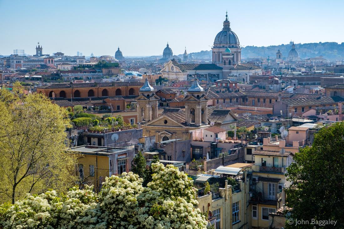 Sunny Spring Skyline, Rome