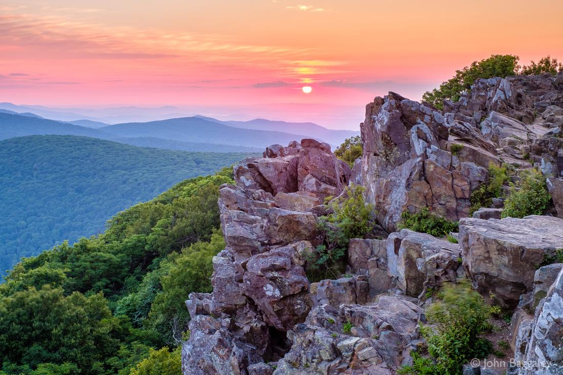 Summer Sunrise on Hawksbill Summit