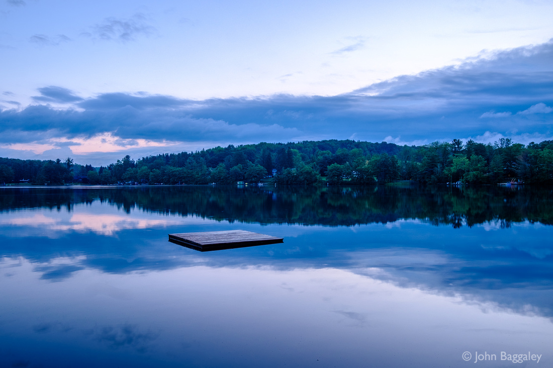 Blue Hour at the Lake