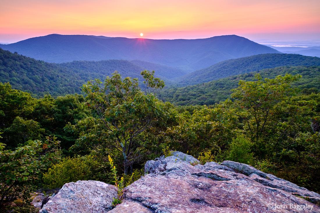 Summer Sunrise from Bearfence Mountain