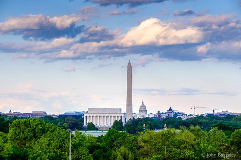 Clouds Over the Washington Skyline