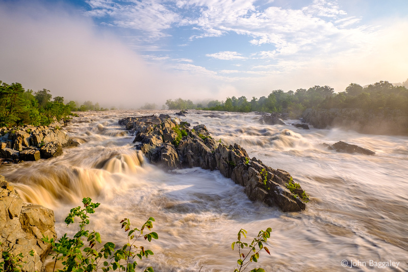 Great Falls after a Summer Rain
