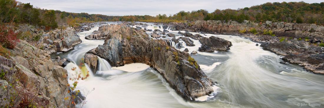 Great Autumn Falls Panorama