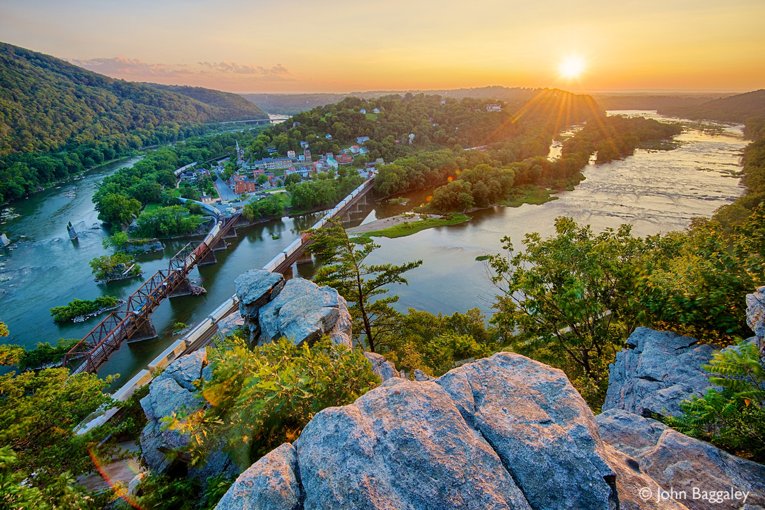 Harpers Ferry Sunset