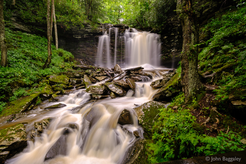 Falls of Hills Creek (middle)