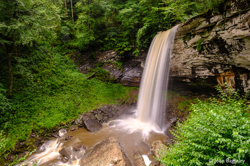 Falls of Hills Creek (lower 1)