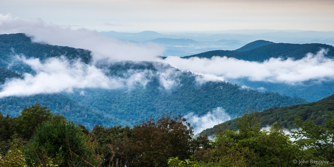 Looking Across Mountains and Clouds 2