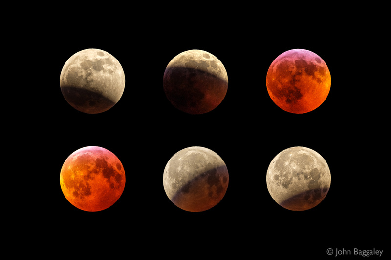 Full Wolf Supermoon Total Lunar Eclipse