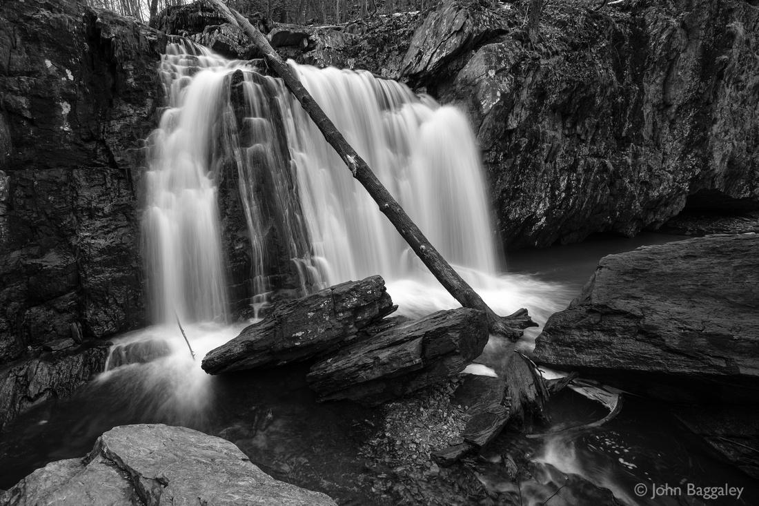 Kilgore Falls in Black and White