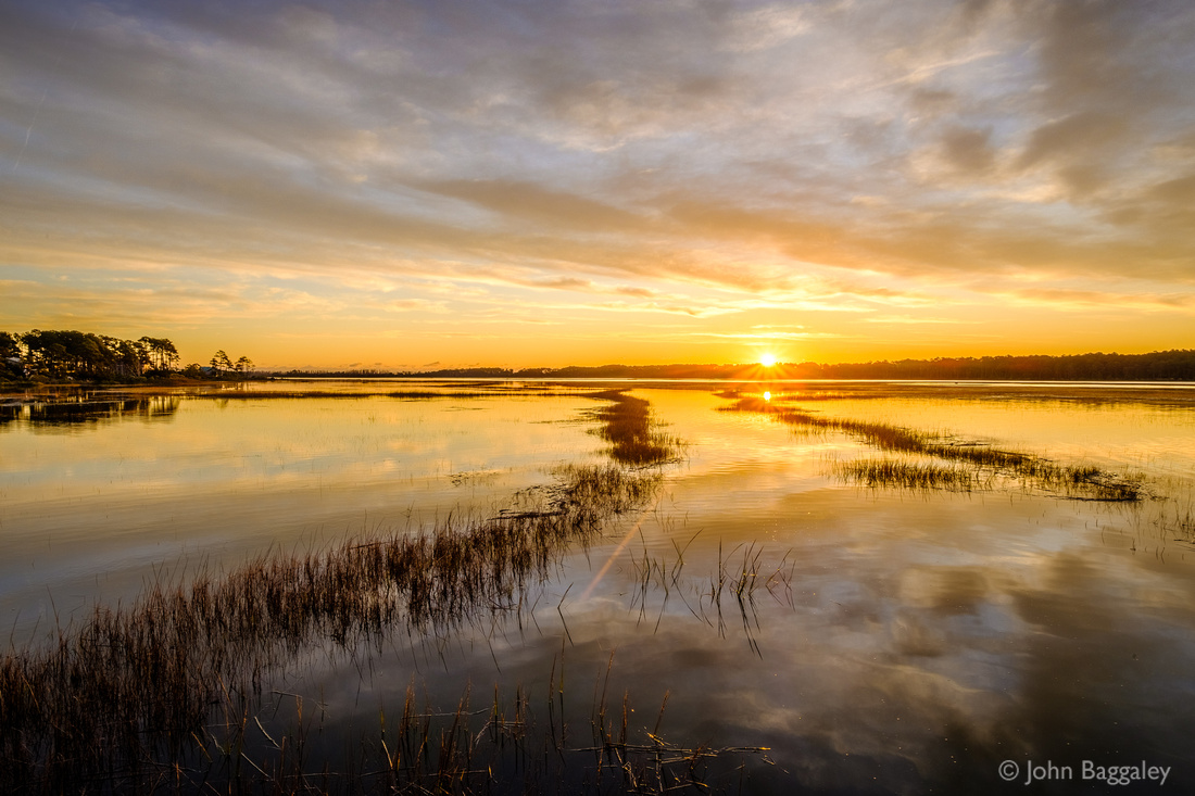 Golden Hour in Chincoteague