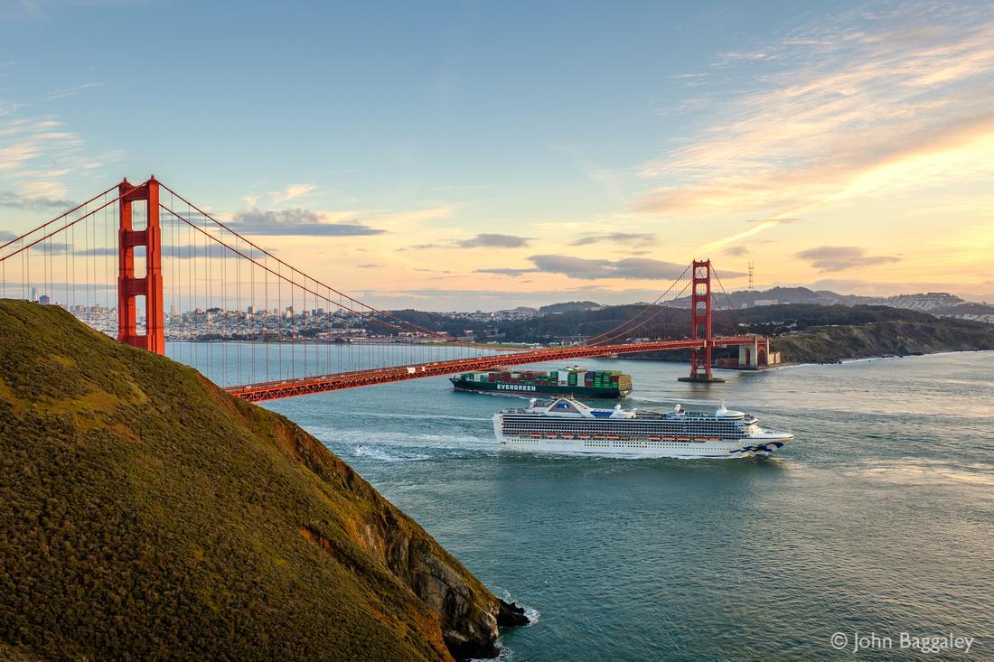 Big ships and big bridges