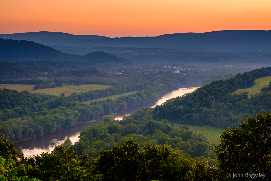 Dusk on the Potomac and Great Cacapon