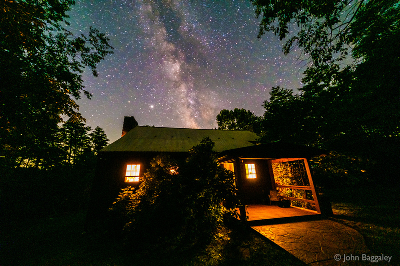 The Cabin and the Milky Way