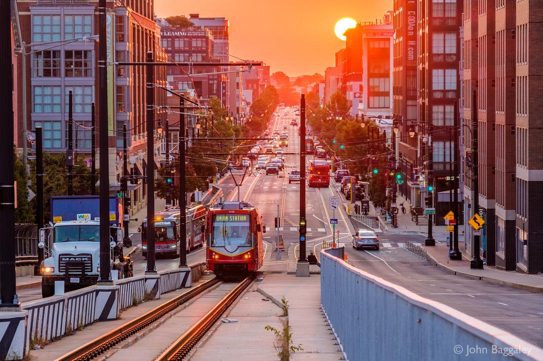 2020 Autumnal Equinox Sunrise on H Street 2