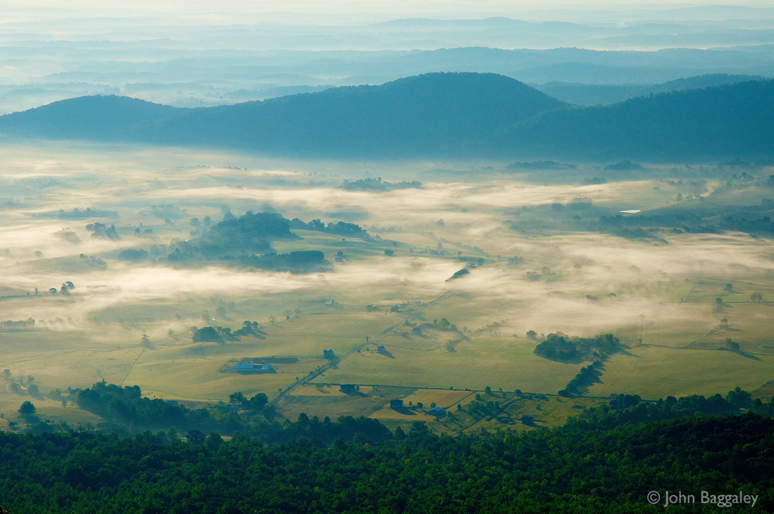 Early Morning Mist, Old Rag Mountain