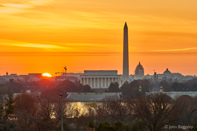 DC Skyline Sunrise