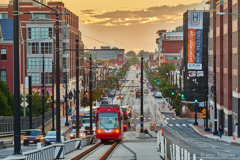 Streetcars on H Street