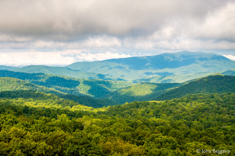 Patchy Clouds Over Shenandoah