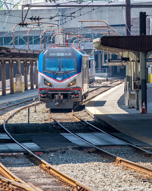Amtrak #626 at Union Station