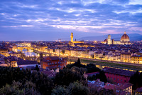 Nightfall on Florence