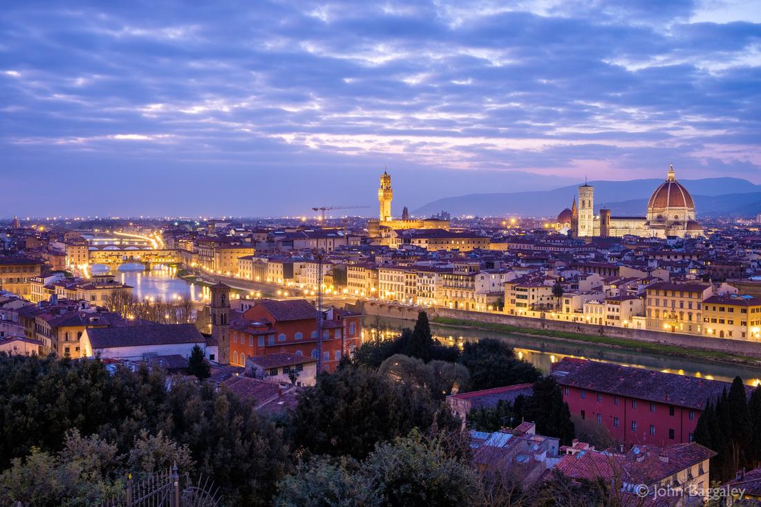 Nightfall on Florence