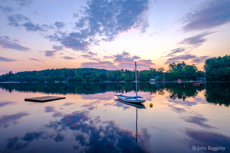 Purple Dawn, Lake Wesauking