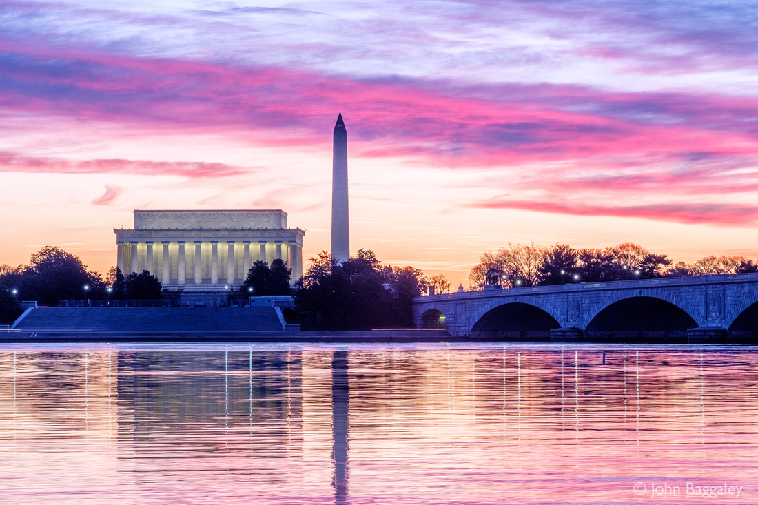 Dawn on the Monuments